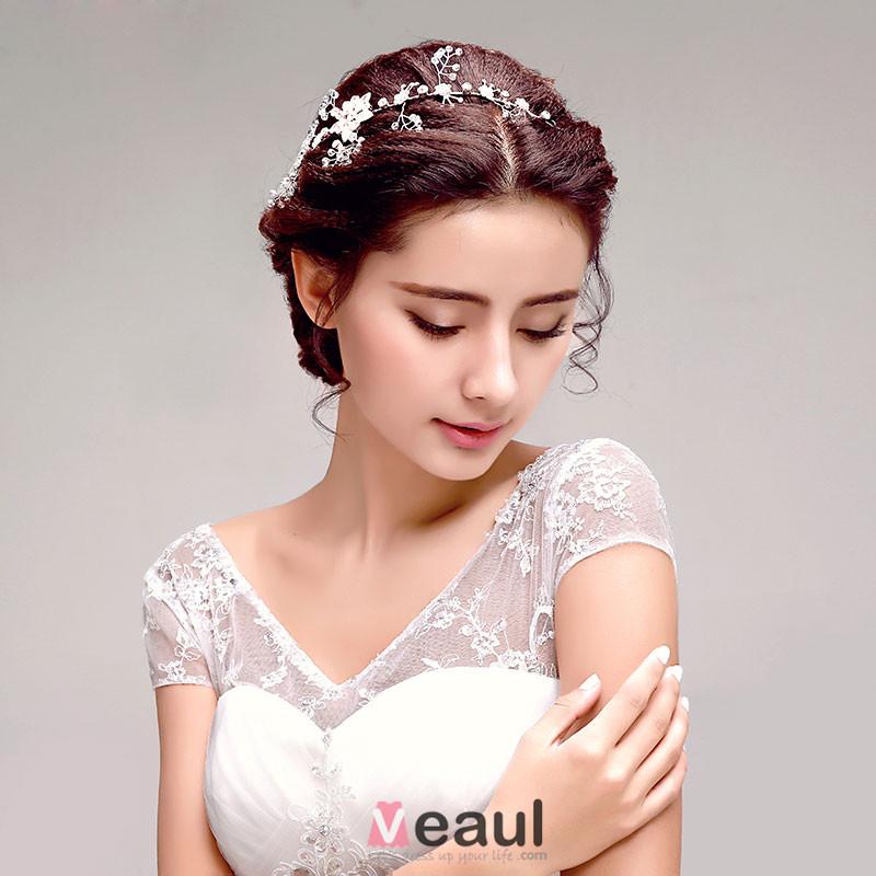 Shinning Rhinestone Flower Bridal Headpieces /Head Flower / Wedding Hair Accessories / Wedding Jewelry