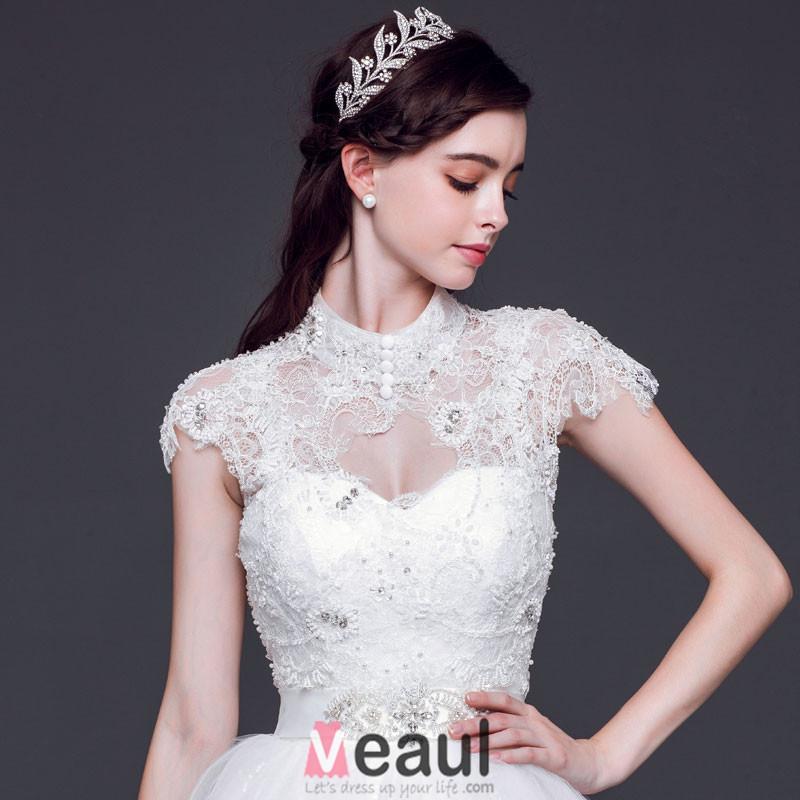 Branch Shape Bridal Rhinestone Tiara / Flower Headdress / Wedding Accessories