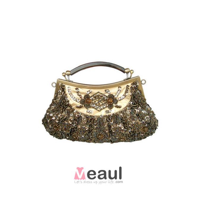 National Style Elegant Beaded Bag Dress Bag Bridal Bag Clutch Bags