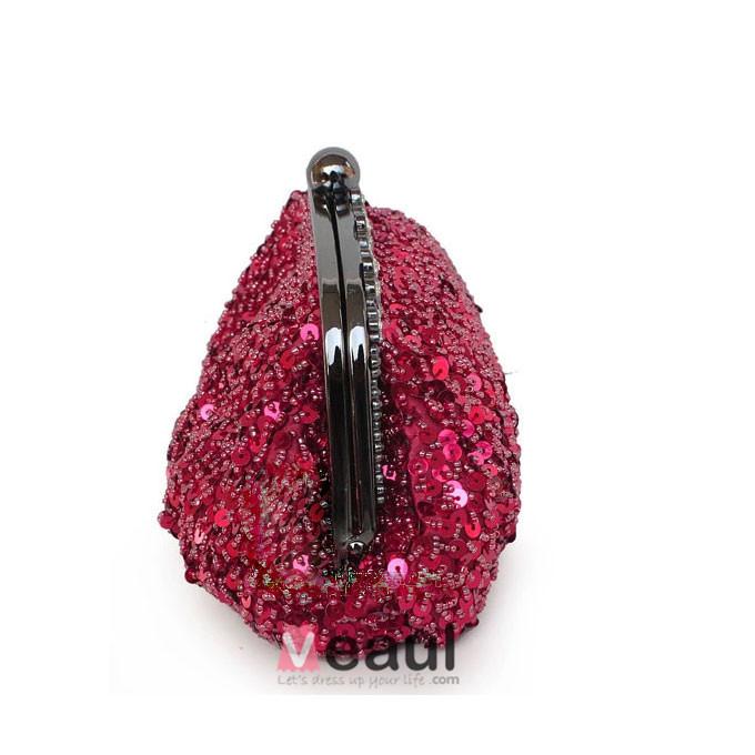 Summer Shiny Beaded Bag Retro Ladies Handbags Wedding Dress Bag Handbag Bridal Package Clutch Bags