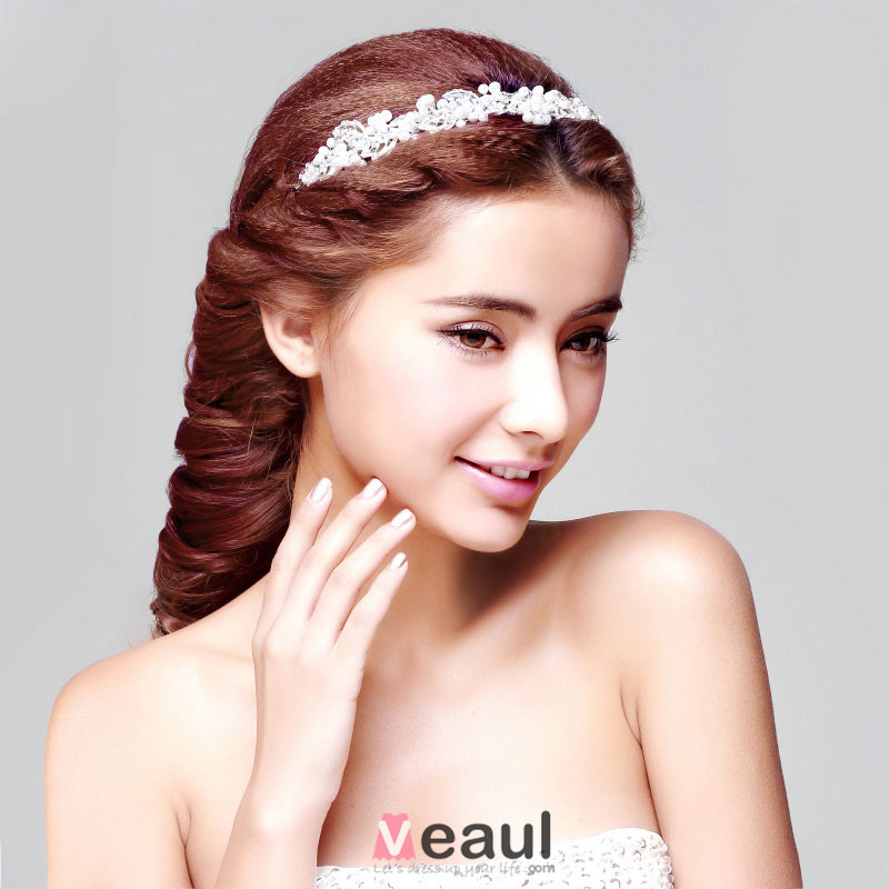 belle perle la coiffure fleur tete accessoires de cheveux de mariage bijoux de - Accessoir Cheveux Mariage