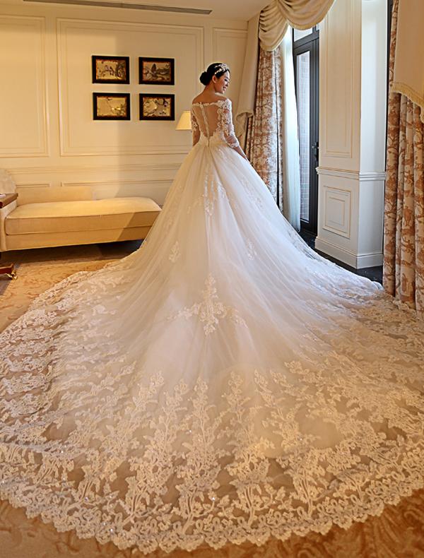 Brautkleid Stile für einen Herbstfeier   abendkleider lang ...