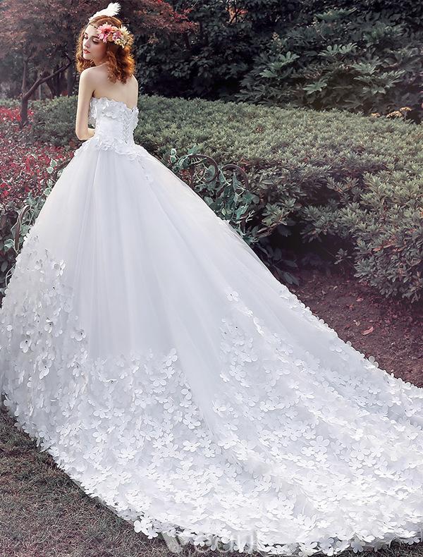 Christmas wedding dress xxl - Glamour 246 Sen Hochzeitskleider 2016 Ballkleid Applique Wei 223 Em T 252 Ll