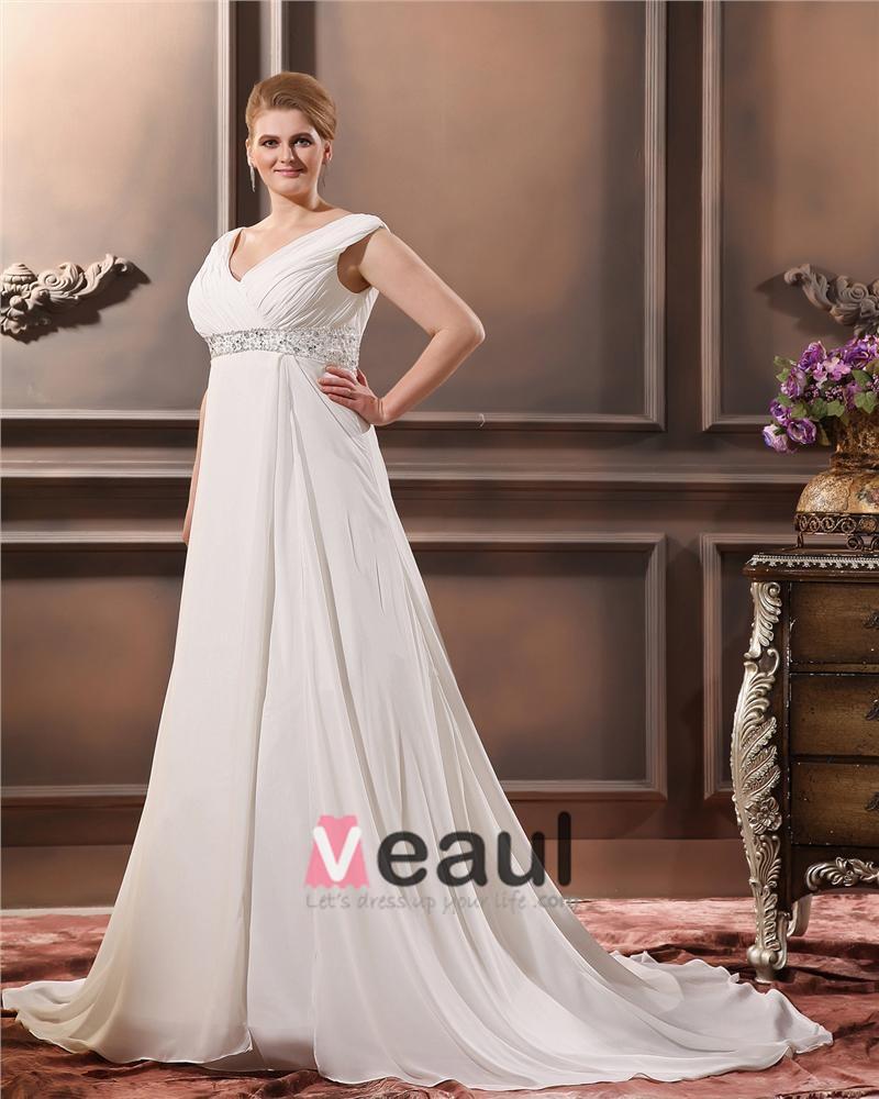 ... Große Größen Brautkleider Hochzeitskleid [1714120020] - Veaul.com