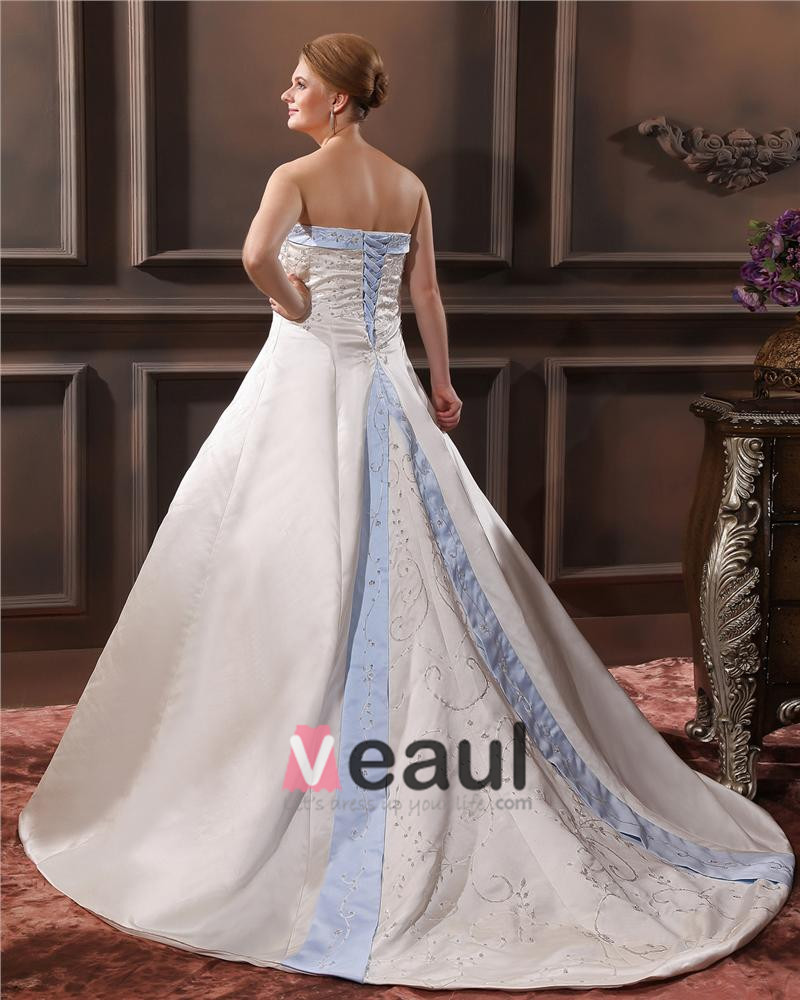 ... Große Größen Brautkleider Hochzeitskleid [1714120075] - Veaul.com