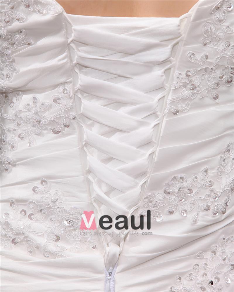 ... Große Größen Brautkleider Hochzeitskleid [1714120065] - Veaul.com