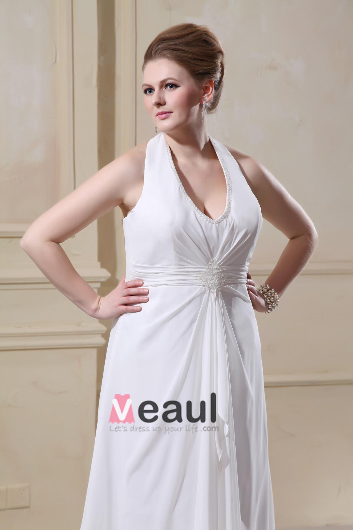 ... Große Größen Brautkleider Hochzeitskleid [1714120013] - Veaul.com