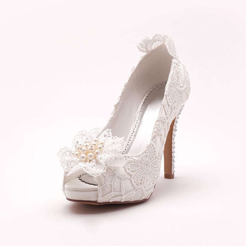 buty ślubne, Czółenka