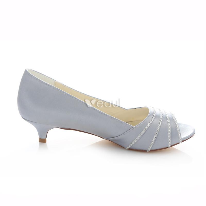 chaussures femmes argentees petit talon a56fe5ed98d7