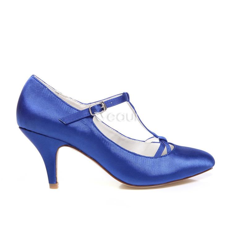 Chaussure A Talon Aiguille Bleu