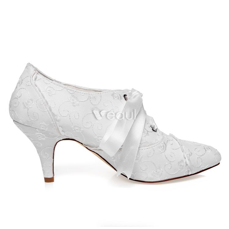 Chaussures de marie 2015 : tradition, vintage et confort