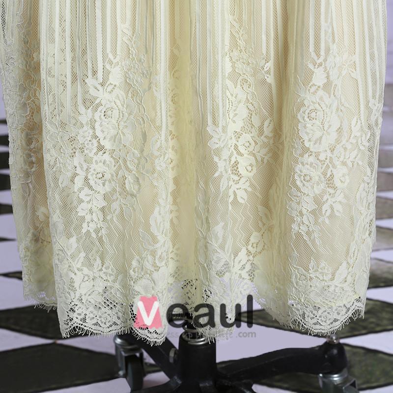 spitze mit perlen lange rmel abendkleid 101504004. Black Bedroom Furniture Sets. Home Design Ideas