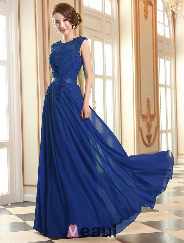 2015 Rosa Formales Kleid A-linie Spitze Abendkleid Mit Schärpe ...
