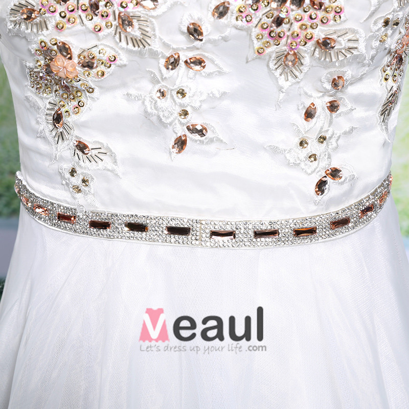 2015 A-Line Sweetheart Appliques Lace Beading Short Cocktail Dress