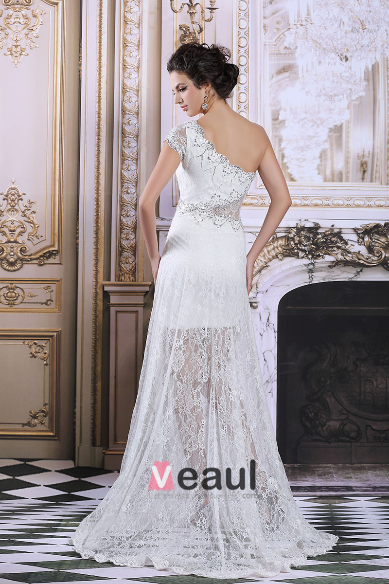 2015 Lace Trimming Beading Party Dress Cocktail Dress