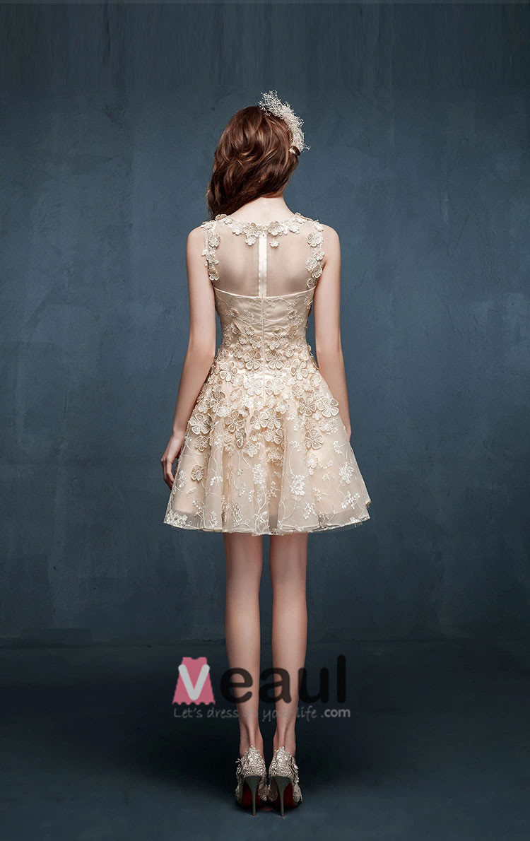 2015 Pierced Sexy Halter Lace Cocktail Dress Party Dress