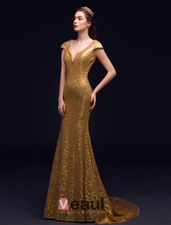 Sparkly Evening Dresses Long Uk 8