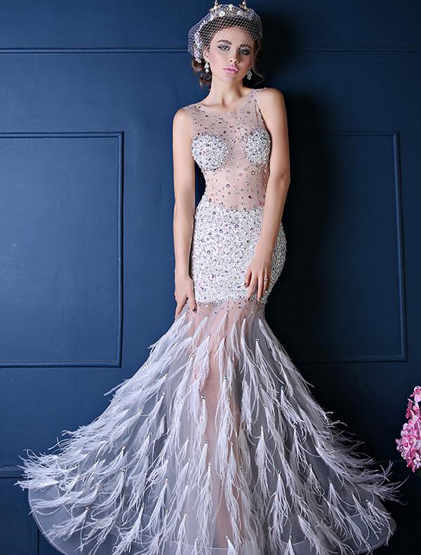 galajurken, lange jurken