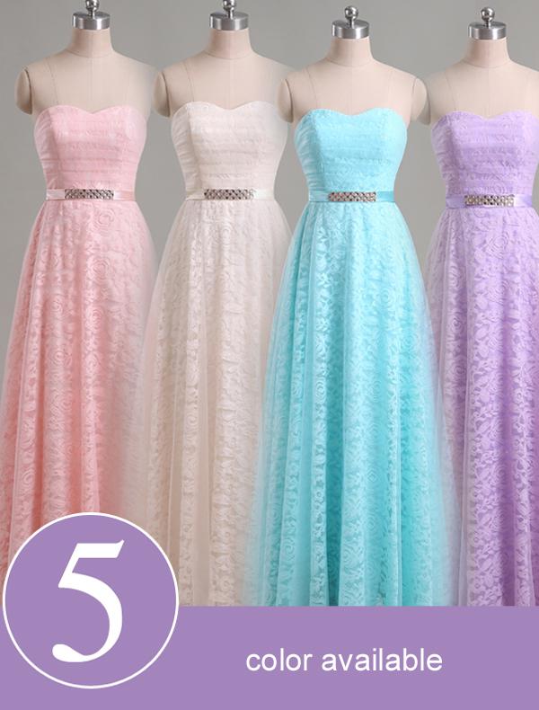 kjole som folk ser i forskjellige farger