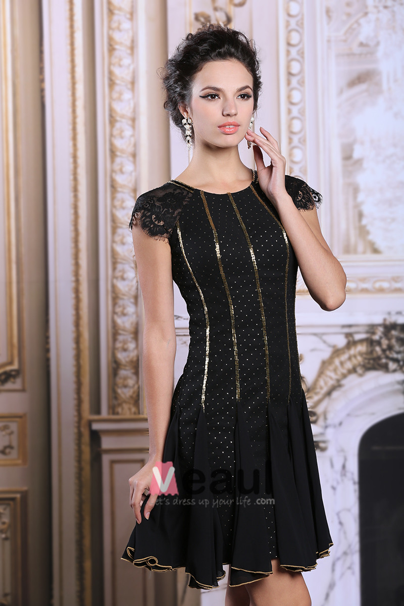 Robe de cocktail noire