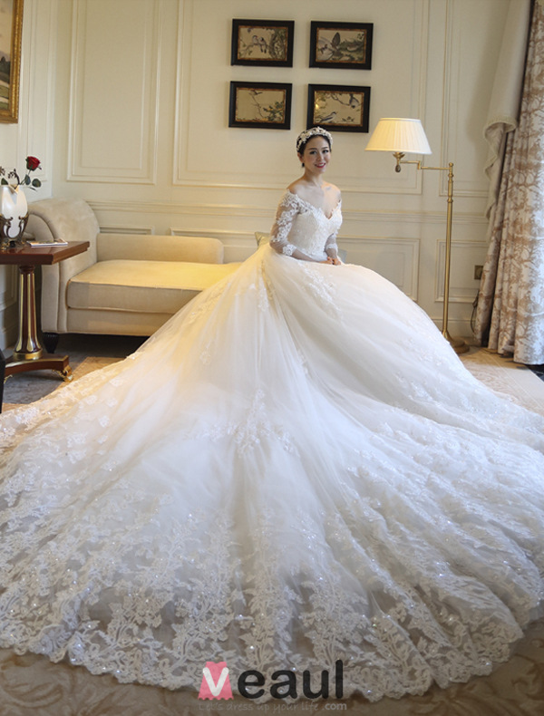 Wedding dresses a line princess wedding dresses stunning a line off