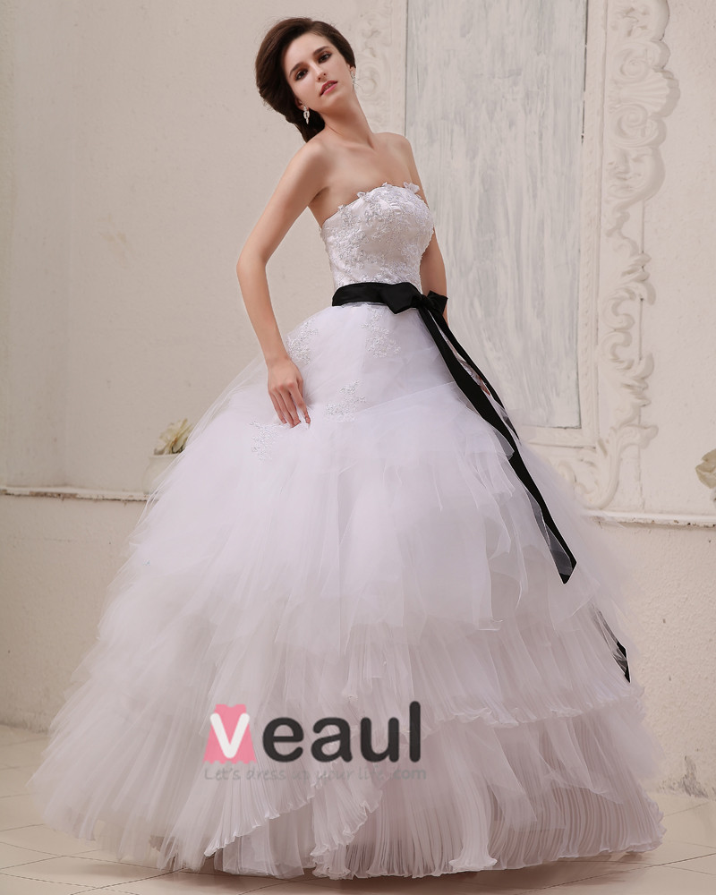 Square Sleeveless Floor Length Permanent Pleat Gauze Ball Gown Wedding Dress