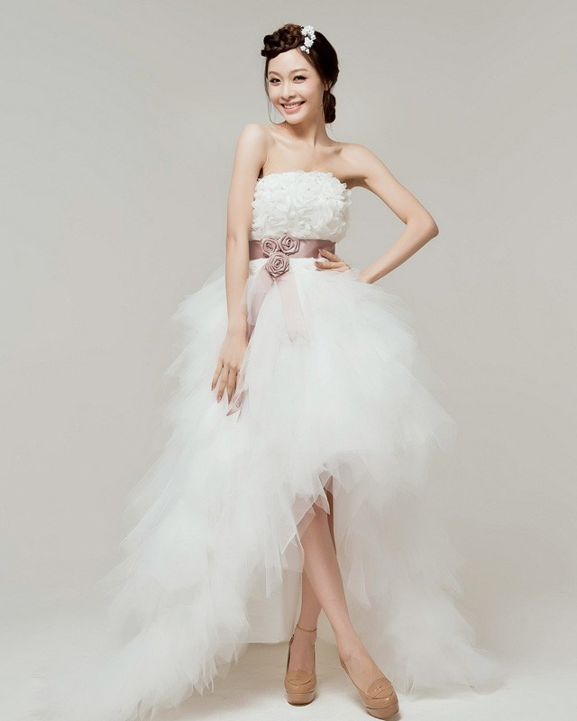 Tulle High Low Dresses