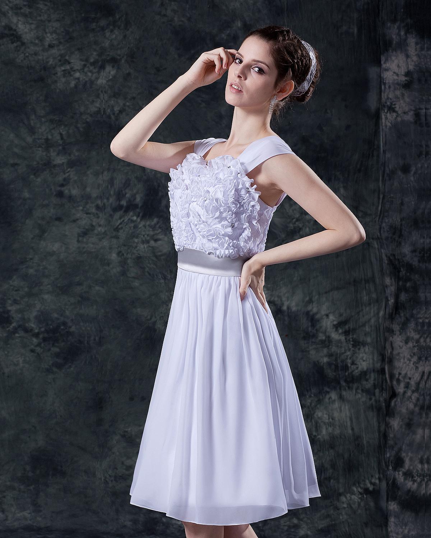 Mini wedding dress for flower
