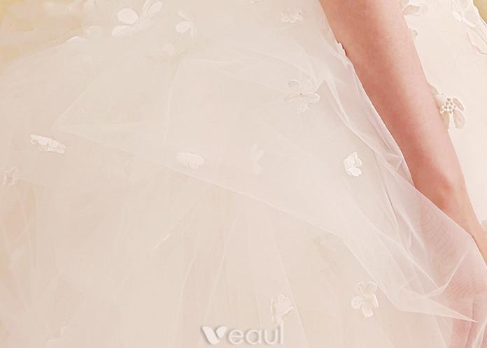 Glamorous Wedding Dresses 2017 Sweetheart Removable Train Mermaid Bridal Gowns