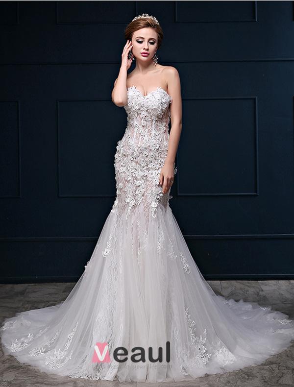Sexy Lace Wedding Dresses