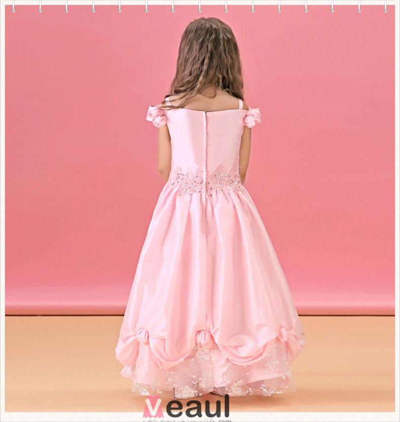 Flower Girl Dresses Long 93