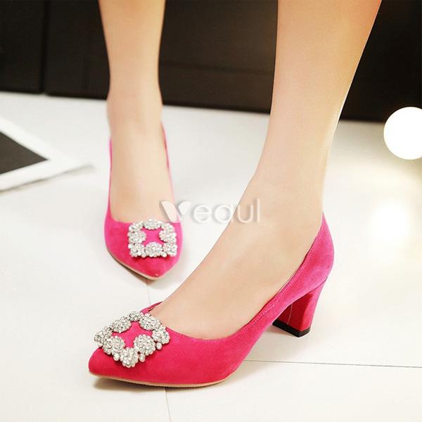 [Image: Womens-Shoes-Pumps-Chic-Blue-Suede-Pumps...4955_5.jpg]