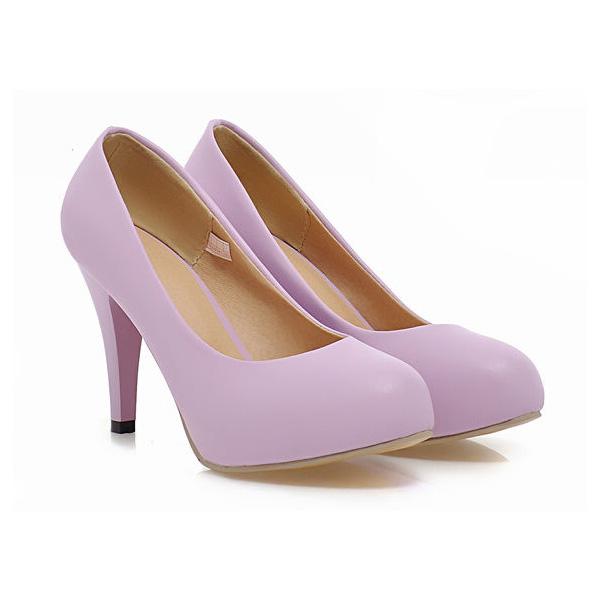 Elegant Patent Leather Pumps 4 Inch Stiletto Heels Bridesmaid Shoes High Heels