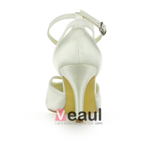 Elegant Pointed Toe Stiletto Heels 3 inch High Evening Shoes Bridal Wedding Shoes