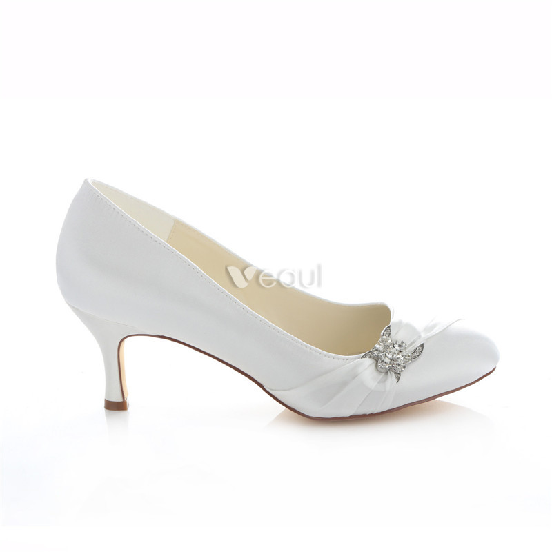 Collection Satin Wedding Shoes Pictures - Weddings Pro