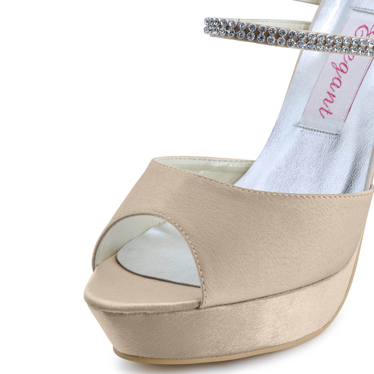 Fashion Party High With Waterproof Shoes Wedding Shoes Foot Ring Strap