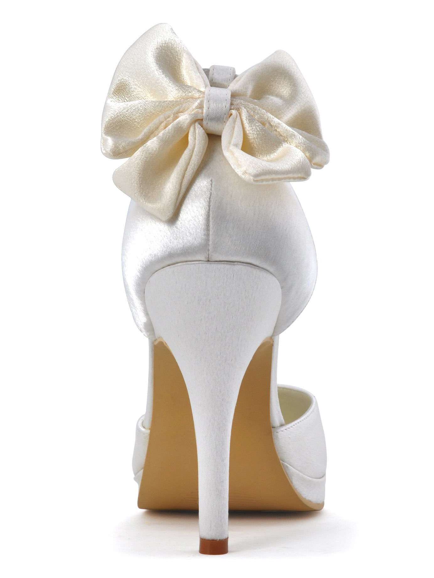 Handmade Custom Wedding Shoes Party Shoes Satin Butterfly