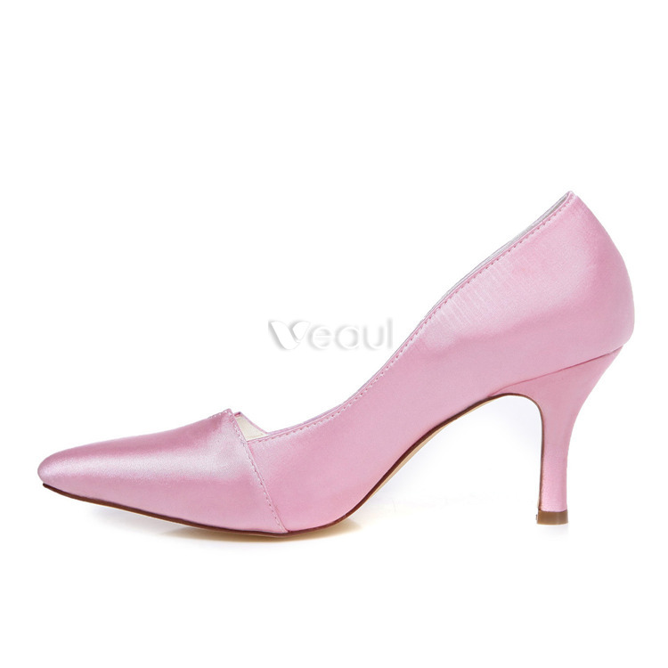 Hot Pink Shoes For Wedding Dress