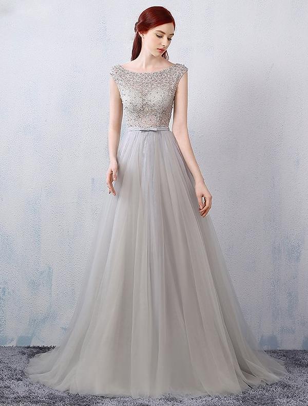 Glamourösen Abendkleider 2016 A-line Sicken Durchbohrt ...