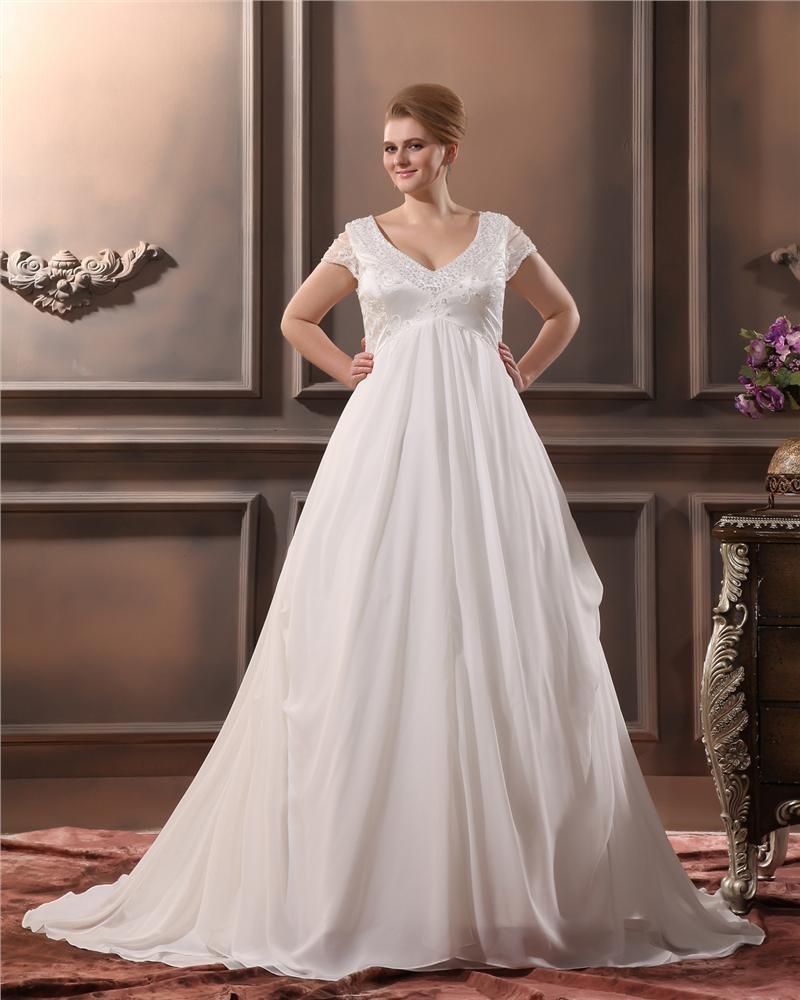 Robe de mari e grande taille for Plus la taille robe de mariage illusion