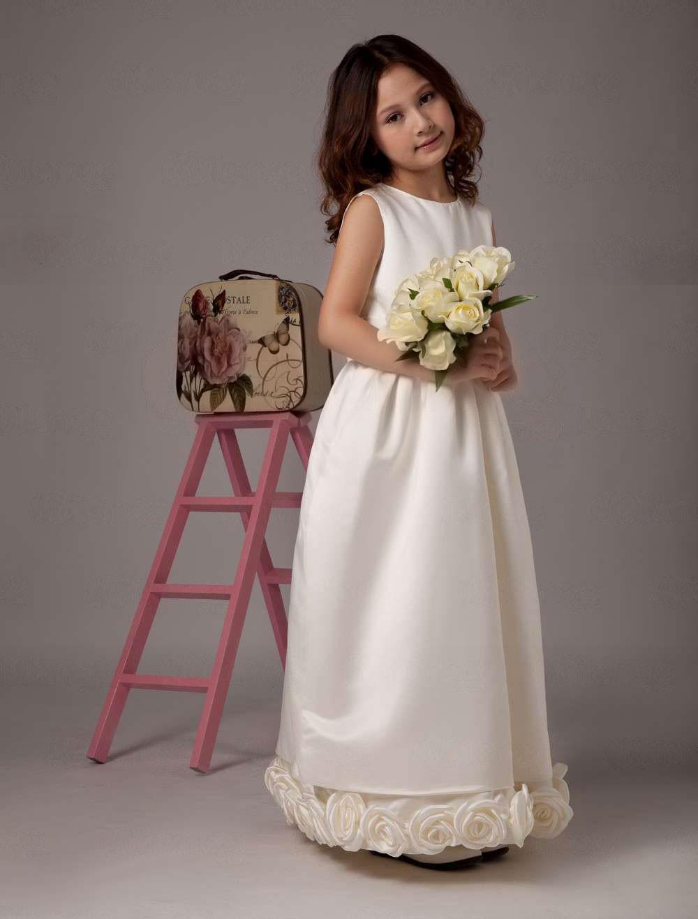 Ivory Flower Girl Dresses- Cheap Flower Girl Dresses Online ...