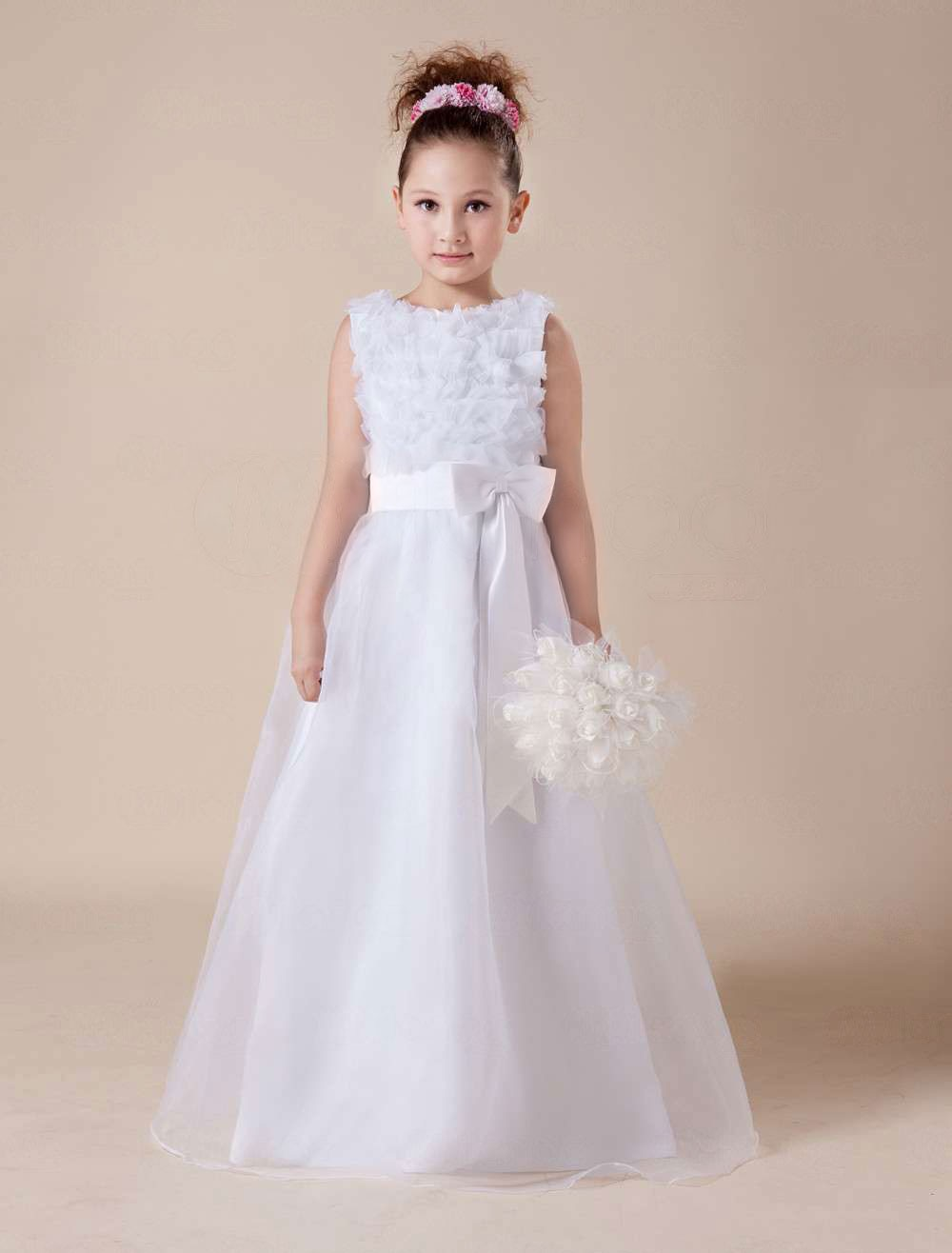 Floor-Length / Long Flower Girl Dresses, Cheap Flower Girl Dresses ...