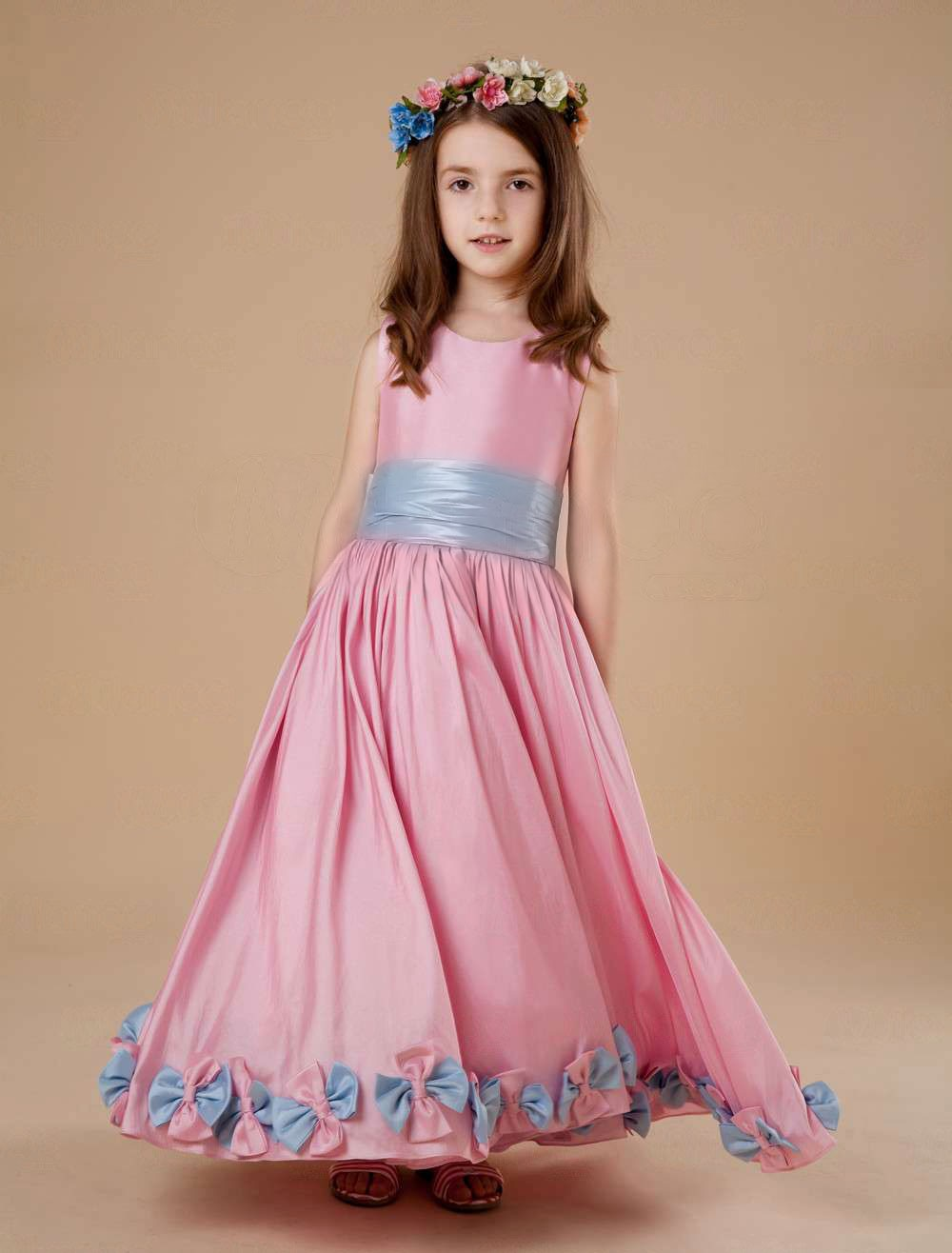 Flower Girl Dresses Pink Cocktail Dresses 2016