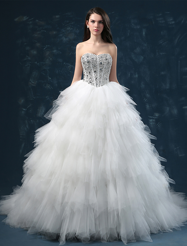Corset Cheap Wedding Dresses Bridal Gowns Online - Veaul.com