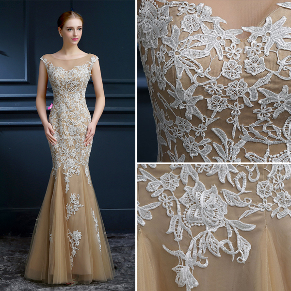 Model de robe de soiree en dentelle 2015