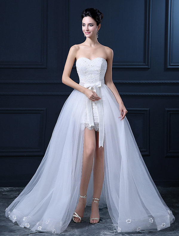 Modest / Simple Cheap Wedding Dresses- Bridal Gowns Online - Veaul.com