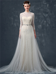 A Line/ Princess Wedding Dresses