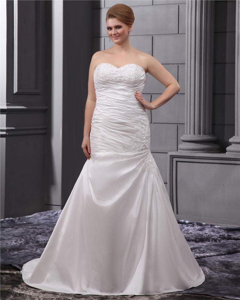 ... Große Größen Brautkleider Hochzeitskleid [1714120061] - Veaul.com