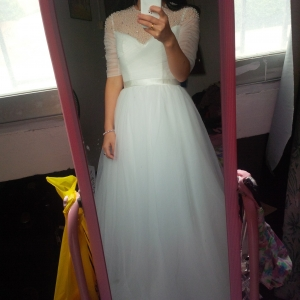 I just received my dress today