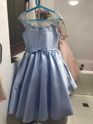 The dress is made of very good fabric and I was super happy with my purchase.
